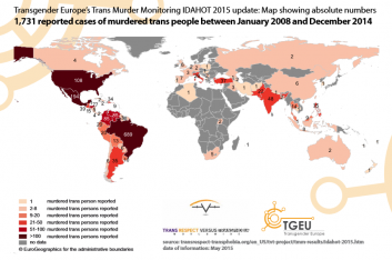 Trans Murder Monitoring Archives TvT - Transgender map of us